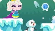 Игра Холодное сердце бродилка на двоих: Спасти принцессу