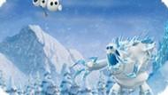 Игра Холодное сердце: Бросьте Олафа