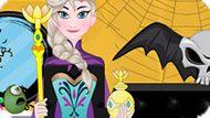 Игра Холодное сердце: Декор комнаты Эльзы на Хэллоуин