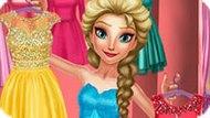 Игра Холодное сердце: День моды Эльзы