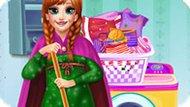Игра Холодное сердце: День уборки у Анны