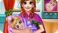 Игра Холодное сердце: Доктор для беременной Анны