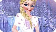 Игра Холодное сердце: Дресс код Эльзы