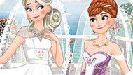 Игра Холодное сердце: Двойная свадьба Эльзы и Анны