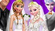 Игра Холодное сердце: Двойная свадьба принцесс