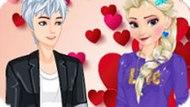 Игра Холодное сердце: Горячее свидание Эльзы