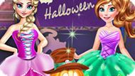 Игра Холодное сердце: Хэллоуин вечеринка