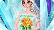 Игра Холодное сердце: Идеальное свадебное платье Эльзы