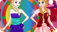 Игра Холодное сердце: Идеальные сестры Эльза и Анна