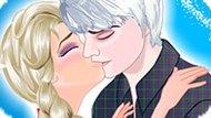 Игра Холодное сердце: Идеальный поцелуй Эльзы и Джека