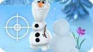 Игра Холодное сердце: Играть в снежки с Олафом