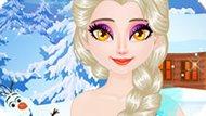 Игра Холодное сердце: Игристые ресницы Эльзы