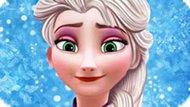 Игра Холодное сердце: Элегантный макияж Эльзы