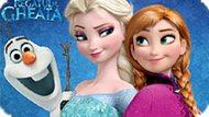 Игра Холодное сердце: Эльза, Анна и Олаф