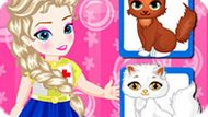 Игра Холодное сердце: Эльза доктор ветеринар