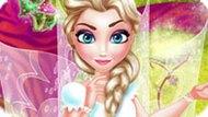 Игра Холодное сердце: Эльза фея украшает комнату