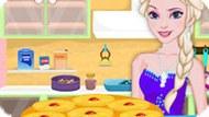 Игра Холодное сердце: Эльза готовит ананасовый пирог