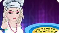 Игра Холодное сердце: Эльза готовит горячий пирог Тамале