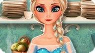 Игра Холодное сердце: Эльза готовит яблочный пирог