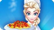 Игра Холодное сердце: Эльза готовит пасту Пенне с фасолью