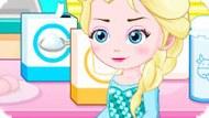 Игра Холодное сердце: Эльза готовит печенье