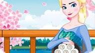 Игра Холодное сердце: Эльза готовит суши