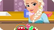 Игра Холодное сердце: Эльза готовит торт к Пасхе