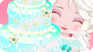 Игра Холодное сердце: Эльза готовит торт