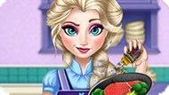 Игра Холодное сердце: Эльза готовит
