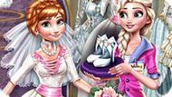 Игра Холодное сердце: Эльза готовится к свадьбе Анны