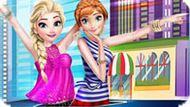 Игра Холодное сердце: Эльза и Анна модели