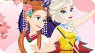 Игра Холодное сердце: Эльза и Анна путешествуют по Азии