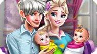 Игра Холодное сердце: Эльза и близнецы