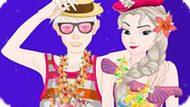 Игра Холодное сердце: Эльза и Джек на Гавайях