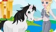 Игра Холодное сердце: Эльза и ее лошадь