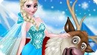 Игра Холодное сердце: Эльза и Свен