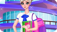 Игра Холодное сердце: Эльза идет в колледж