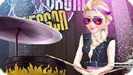 Игра Холодное сердце: Эльза играет на барабанах
