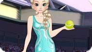 Игра Холодное сердце: Эльза играет в теннис