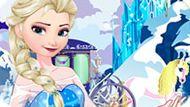 Игра Холодное сердце: Эльза ищет объекты