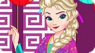 Игра Холодное сердце: Эльза китайская принцесса