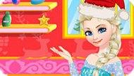 Игра Холодное сердце: Эльза купает малыша