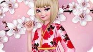 Игра Холодное сердце: Эльза любит сакуру