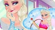 Игра Холодное сердце: Эльза маленький купидон
