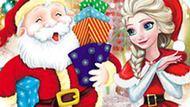Игра Холодное сердце: Эльза мастерит новогодний падарок