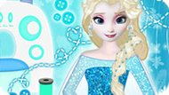 Игра Холодное сердце: Эльза модный дизайнер