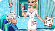 Игра Холодное сердце: Эльза модный доктор