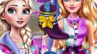 Игра Холодное сердце: Эльза модный советник