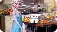 Игра Холодное сердце: Эльза на кухне