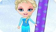 Игра Холодное сердце: Эльза на сноуборде